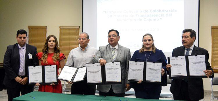 Se compromete Mariscal Alvarado con normatividad en transparencia y rendición de cuentas