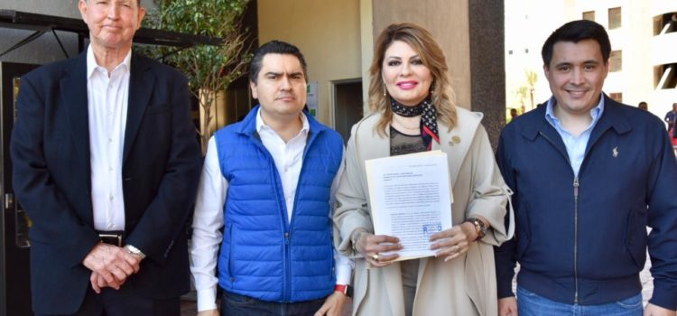 Entrega GPPAN oficio a Delegado Taddei para que Sonora sea prioridad para AMLO