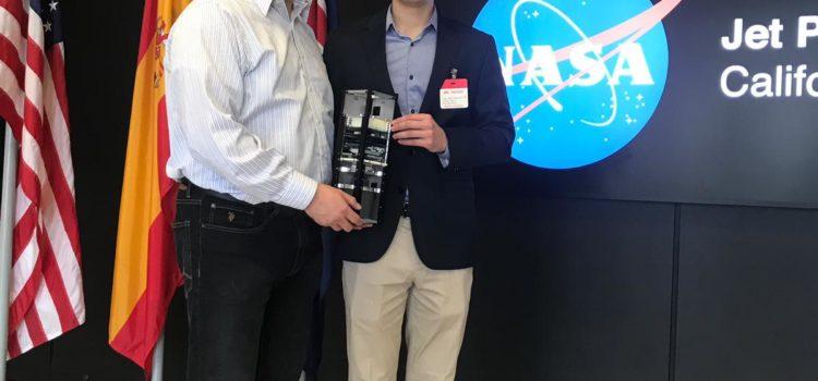 Presenta alumno sonorense misión satelital en la Nasa