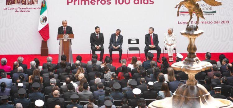 AMLO presenta informe de sus primeros 100 días de gobierno