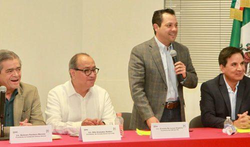 """Ofrece Otto Granados conferencia """"Los retos de la educación superior en México""""."""
