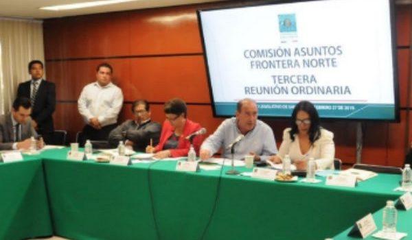 Comisión de Asuntos Frontera Norte pide aclaración en criterios del decreto de Estímulos Fiscales