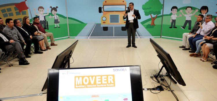 Presenta SEC estrategia de movilidad para estudiantes de zonas rurales