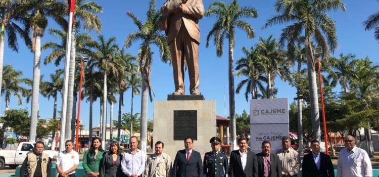 Preside alcalde Mariscal Alvarado ceremonia cívica por 81 aniversario de la Expropiación Petrolera