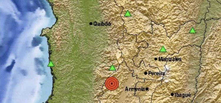 Sismo de 6.1 sacude Colombia