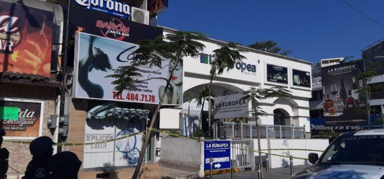 Ataque a bar deja un muerto y 4 heridos en zona turística de Acapulco