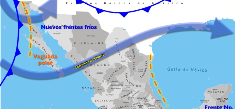 Se prevé el ingreso de un nuevo frente frío para Sonora