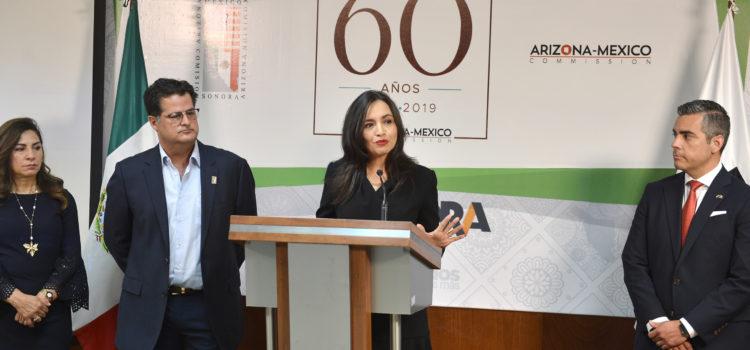 Fortalece Comisión Sonora-Arizona vínculos entre ambas entidades: Natalia Rivera Grijalva