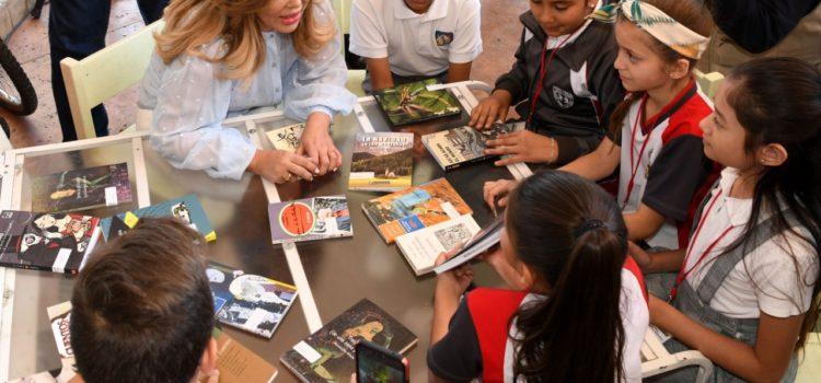 Impulsa Gobernadora la lectura, con 40 mil libros distribuidos en los Municipios