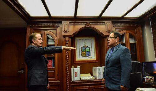 Nombra Sergio Pablo Mariscal a nuevo titular de OOMAPASC en Cajeme