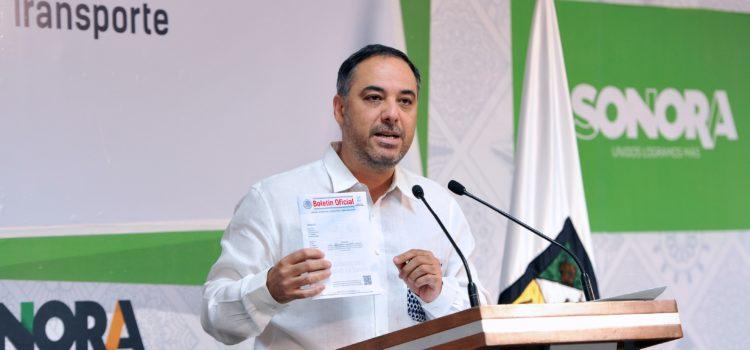 Anuncian empresas que operarán el nuevo servicio de transporte en Hermosillo