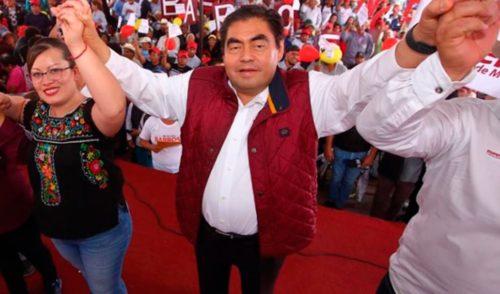 Morena ratifica a Miguel Barbosa como candidato al gobierno de Puebla