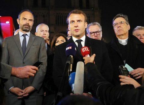 Vamos a reconstruir Notre Dame entre todos: Macrón