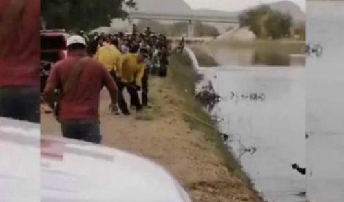 Se ahoga joven en aguas del canal bajo de Ciudad Obregón