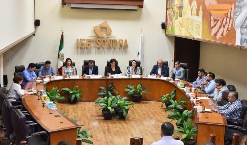 Aprueba Consejo General del IEE Sonora informes de comisiones permanentes