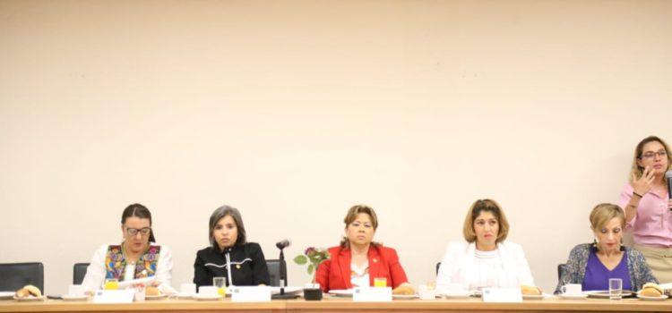 Diputadas de la Comisión de Igualdad de Género avanzan unidas a favor de una vida libre de violencia contra las mujeres