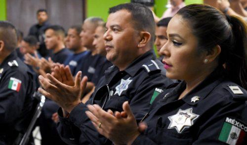 Reconoce Ayuntamiento de Cajeme a policías acreditados en equidad de género