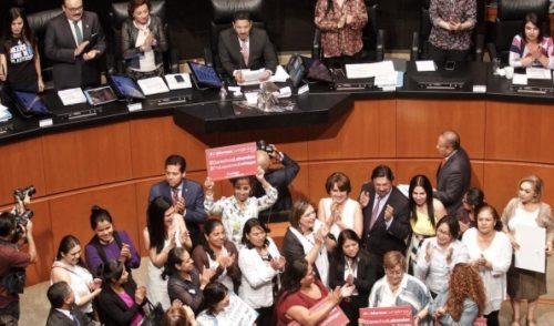 Senado aprueba seguridad social obligatoria para personas trabajadoras del hogar