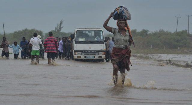 En riesgo 160 mil personas por segundo ciclón en Mozambique