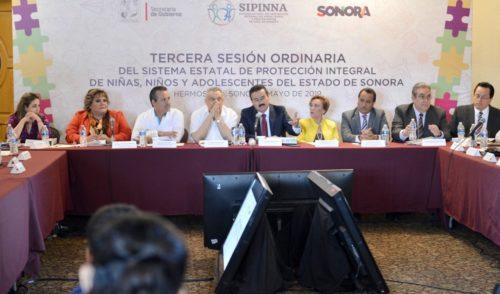 Avanza Sonora en derechos de niñas, niños y adolescentes