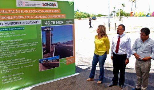 Autoridades de Guaymas acompañan a Claudia Pavlovich en la liberación de especies de la región