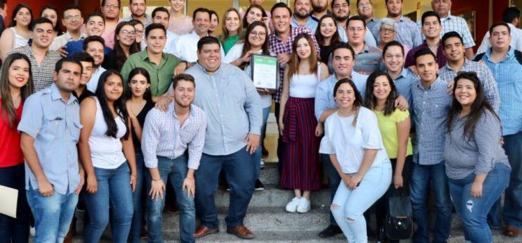 Entrega Ernesto de Lucas constancia a fórmula electa RJXM Sonora