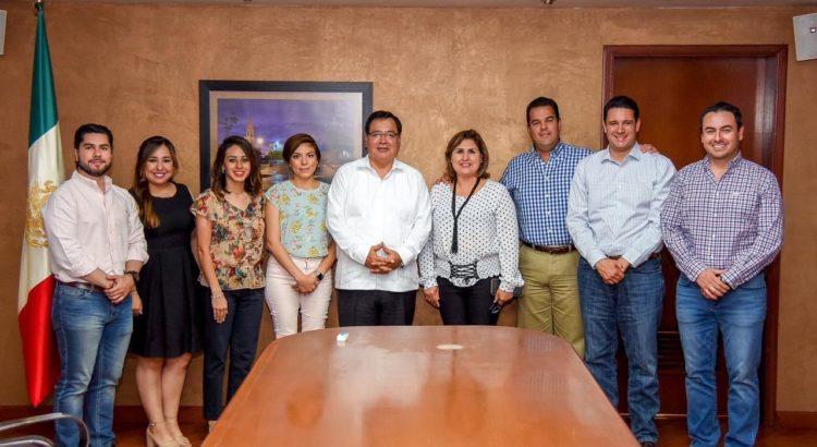 Suman esfuerzos legisladores priistas y alcalde a favor de cajemenses