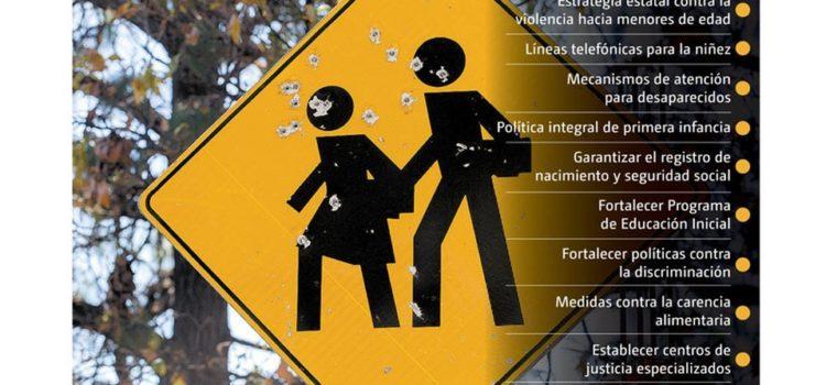 Sacan plan para 'blindar' del 'narco' a menores
