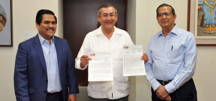 Firman Hacienda e Isssteson convenio para pago de adeudo heredado