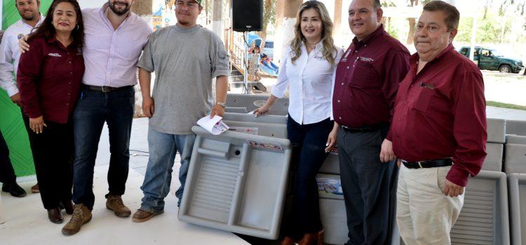 Benefician gestiones de Gobernadora a familias sanluisinas con programas de vivienda nueva y mejoramiento de hogares