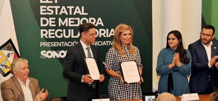 Presenta Gobernadora iniciativa para facilitar inversiones y generar más empleos