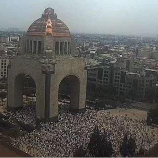 Marchan contra López Obrador en Ciudad de México