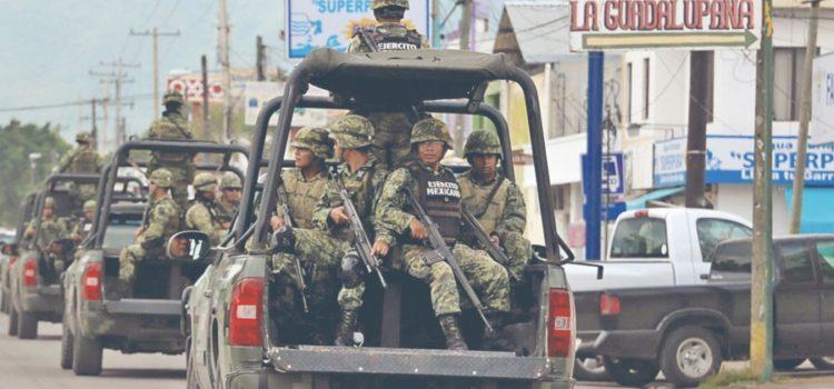 Suman 6 militares muertos en lo que va del Gobierno