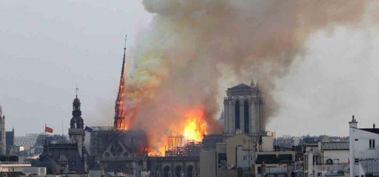 ¡Alertan! Notre Dame es un 'riesgo para la salud' por plomo