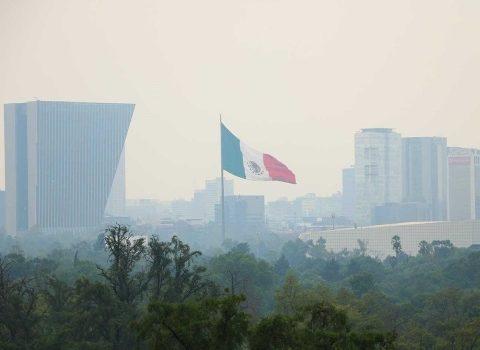 Valle de México, a 5 puntos de la contingencia ambiental