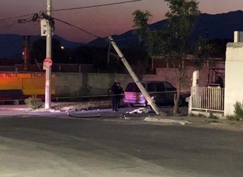 Mujer muere atropellada por patrulla municipal en Saltillo