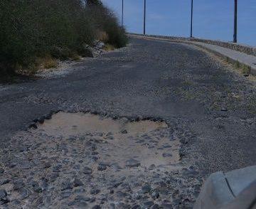 Piden arreglar camino a mirador del Cerro de la Campana
