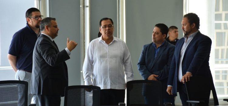 Busca alcalde Sergio Mariscal nuevas tecnologías para la atención de emergencias policiacas