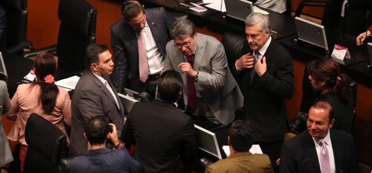 Senado cierra sesión sin leyes secundarias de Guardia Nacional