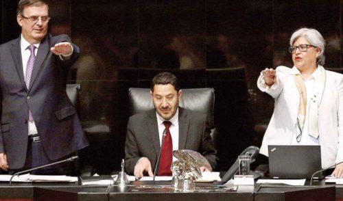 México, listo para aplicar el ojo por ojo; 'No hay acuerdo secreto con EU': Ebrard