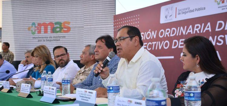 Propone Mariscal Alvarado estrategias transversales para combatir la delincuencia y la criminalidad