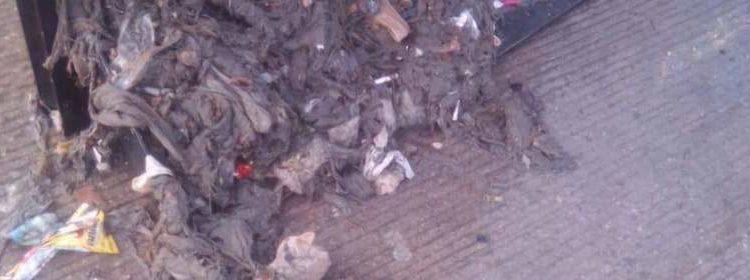 Localizan feto en una alcantarilla de Hermosillo