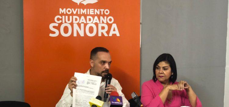 Denuncia MC a Célida López ante Contraloría Municipal por recursos del Ayuntamiento