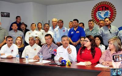 Suspende CTM emplazamiento a huelga, por respuesta favorable a sus demandas y por solicitud de la Gobernadora Pavlovich.