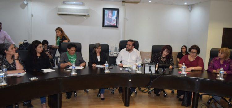 Suman SSP, ISM y FGJE a mujeres feministas y académicas en trabajo de prevención