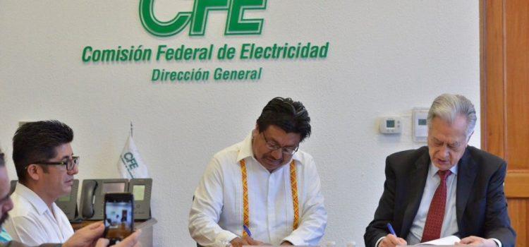 Acuerdan INPI y CFE plan para electrificación de pueblos indígenas