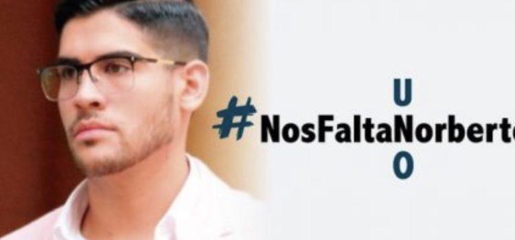 #NosFaltaNorberto: secuestran a universitario al salir de clases; su familia paga rescate y no regresa