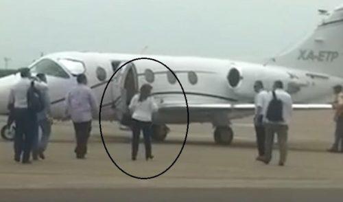 Morenistas revelan que Polevnsky rentó jet privado para apoyar campañas en Tamaulipas