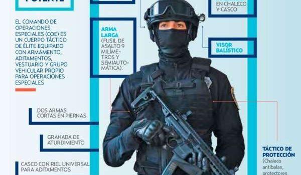 Presentan SWAT capitalino