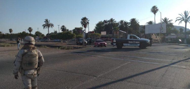 Emboscada en Guaymas deja un policía muerto y 3 heridos